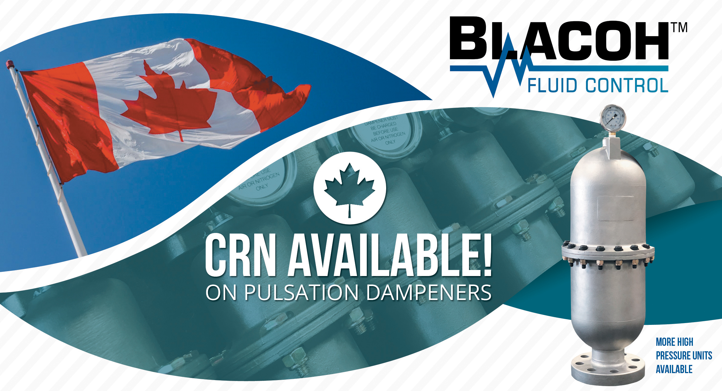 Offering More High Pressure Dampeners With Crn Certification